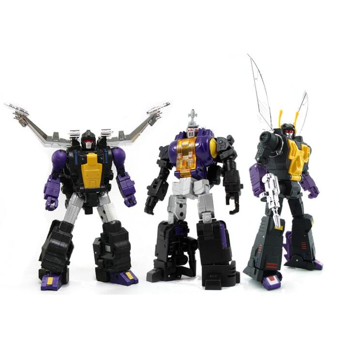 Fans Toys - Set of 3 Figures [FT-12T Grenadier/FT-13 Mercenary/FT-14 Forager]