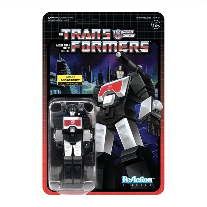 Transformers X Super 7 - Transformers ReAction: Perceptor MC-20 [Black Version]