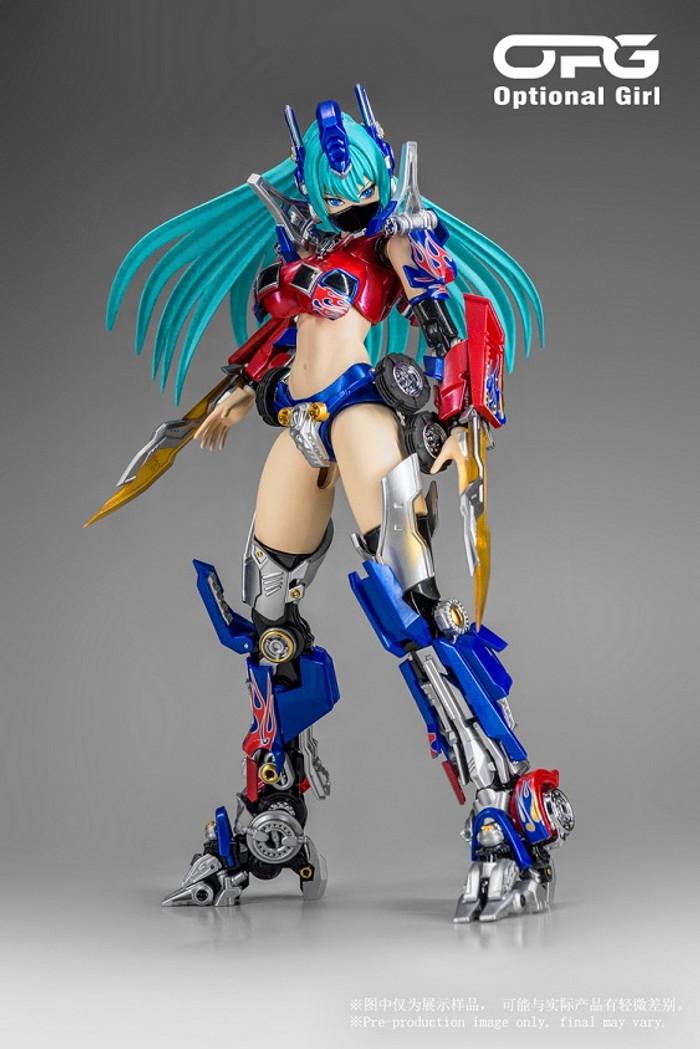 Alien Attack - OPG-01 Optional Girl [M2 Version]