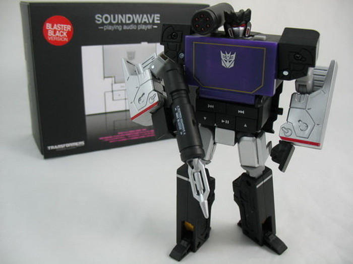 Music Label Soundwave MP3 Player - Blaster Black