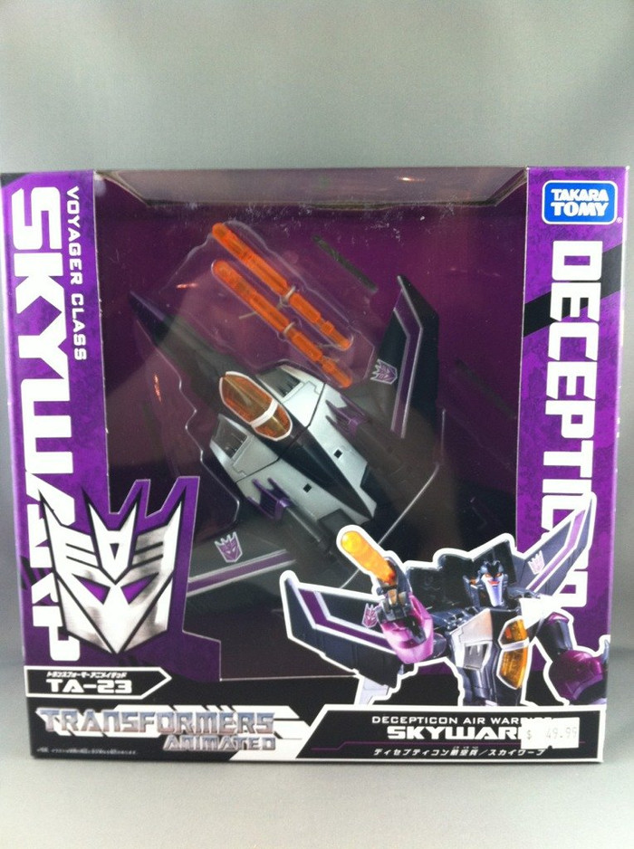 TA-23 Animated Skywarp (Voyager Class)