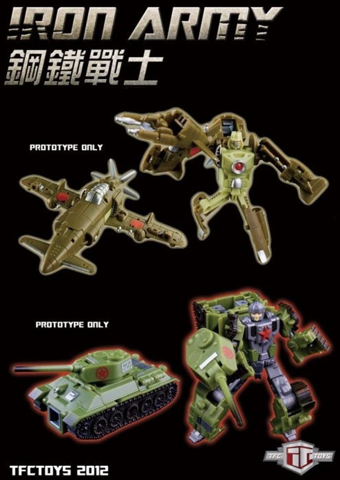 "TFC - Iron Army ""SET B"""