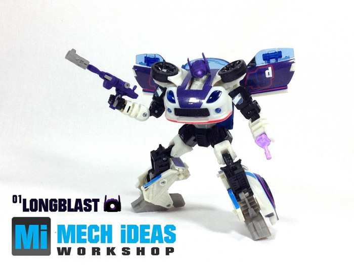 Mech Ideas - WS-01 Long Blast Upgrade Kit