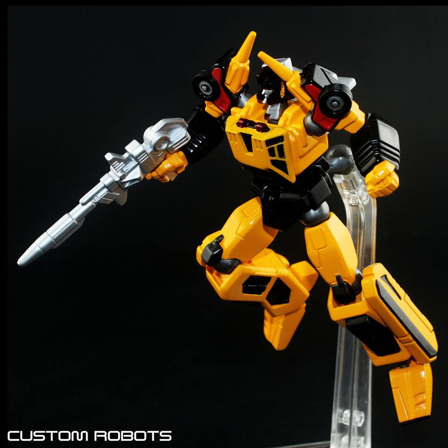 Custom Robot - Sunstreaker (Compatible with Revoltech)