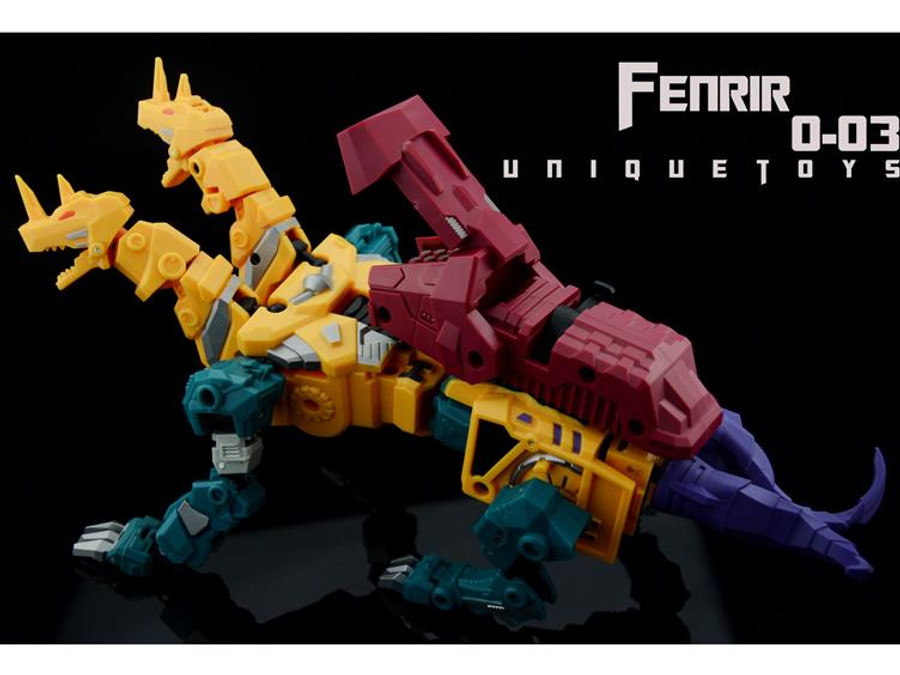 Unique Toys - Ordin - O-03 - Fenrir