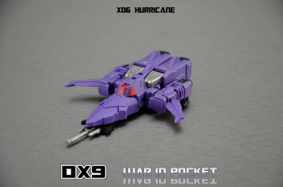 DX9 - War in Pocket - X05 Tyrant & X06 Hurricane Set of 2