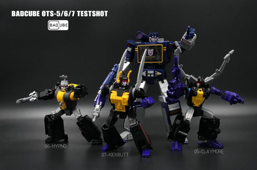 BadCube - OTS - 050607 - Evil Bug Corps Value Pack (Claymore, Hypno & Kickbutt)