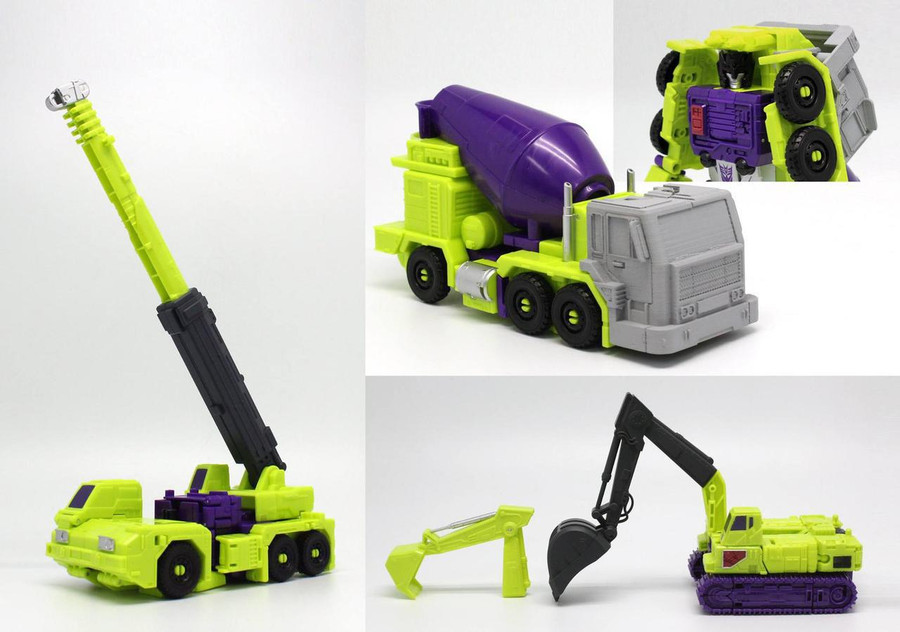 Perfect Effect - PC-06 Perfect Combiner Upgrade Set for Combiner Wars Devastator