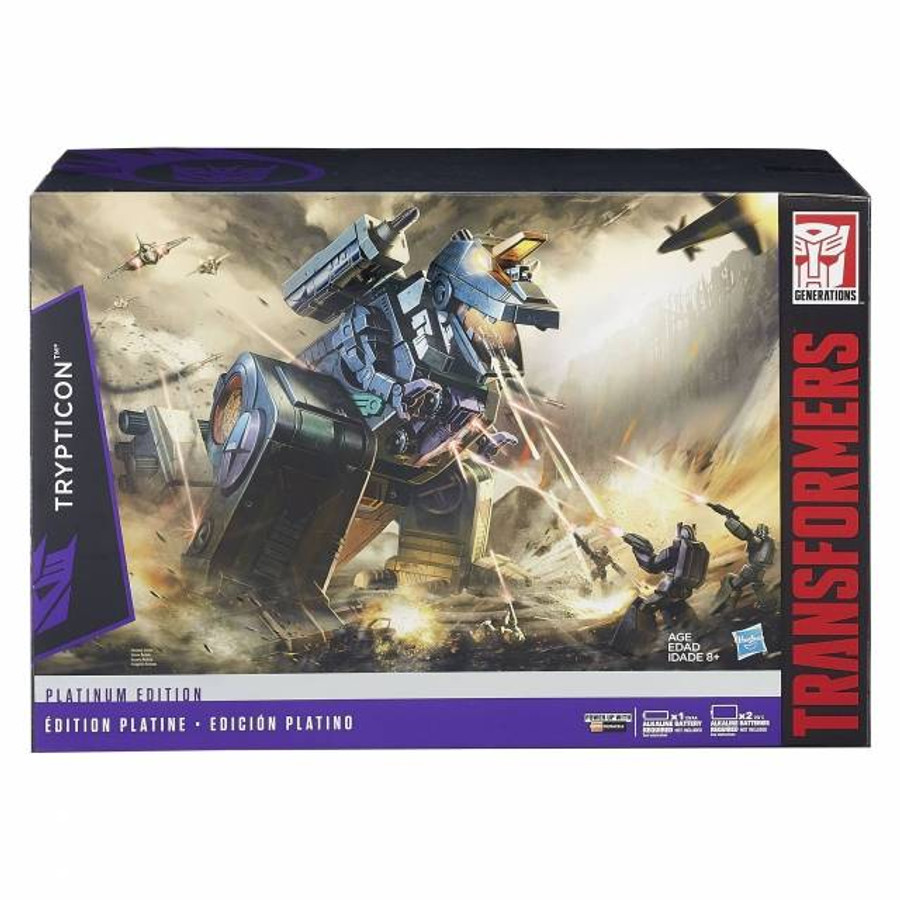 Platinum Edition G1 Trypticon Reissue
