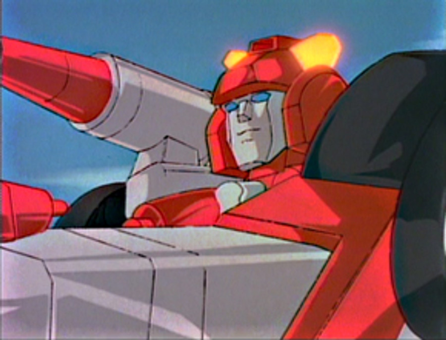 MP-14+ Masterpiece Red Alert Anime Color Version (Limited Edition Takara Tomy Mall Exclusive)