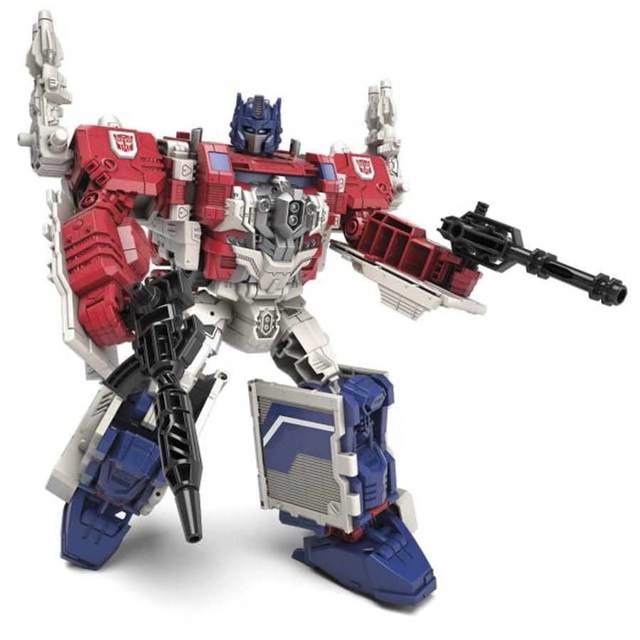 Transformers Generations Titans Return - Leader Class Powermaster Optimus Prime