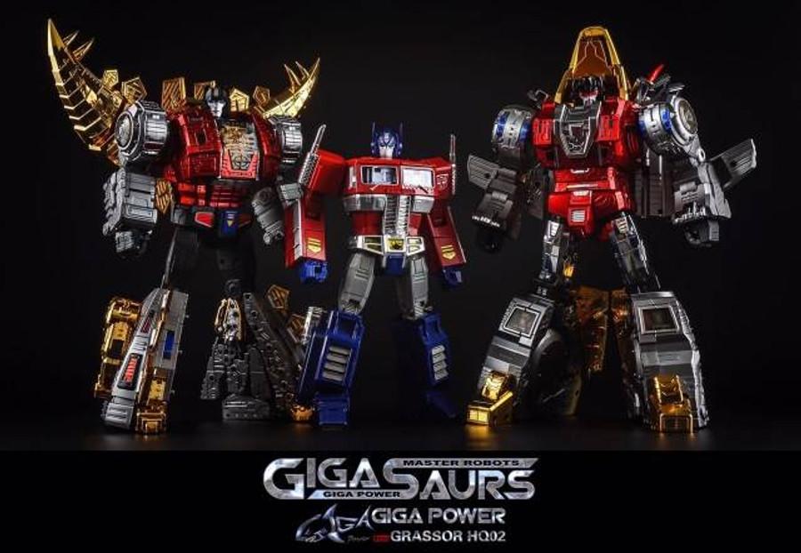 Giga Power - Gigasaurs - HQ02R Grassor - Chrome [Reissue]