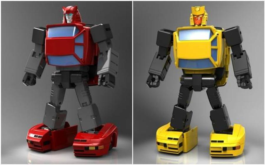 X-Transbots - MM-X Toro & MM-XI Coprimozzo
