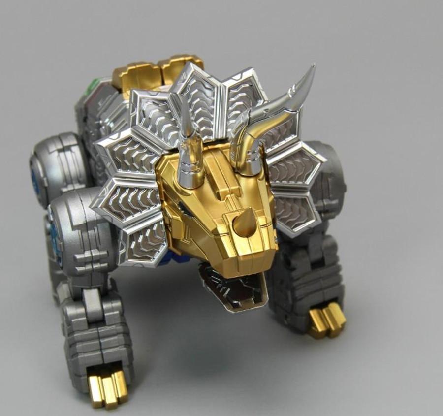 Zeta (ToyWorld) - Metallic Dino Combiner Set of 5