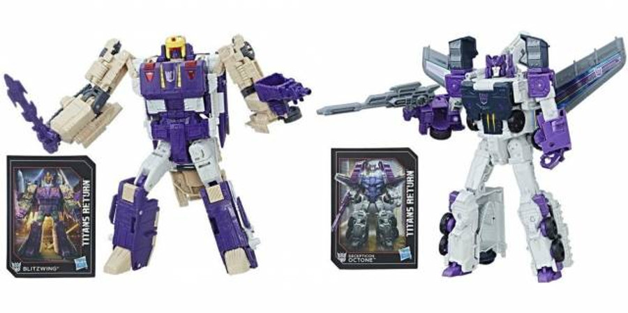 Transformers Generations Titans Return - Voyager Wave 5 - Set of 2