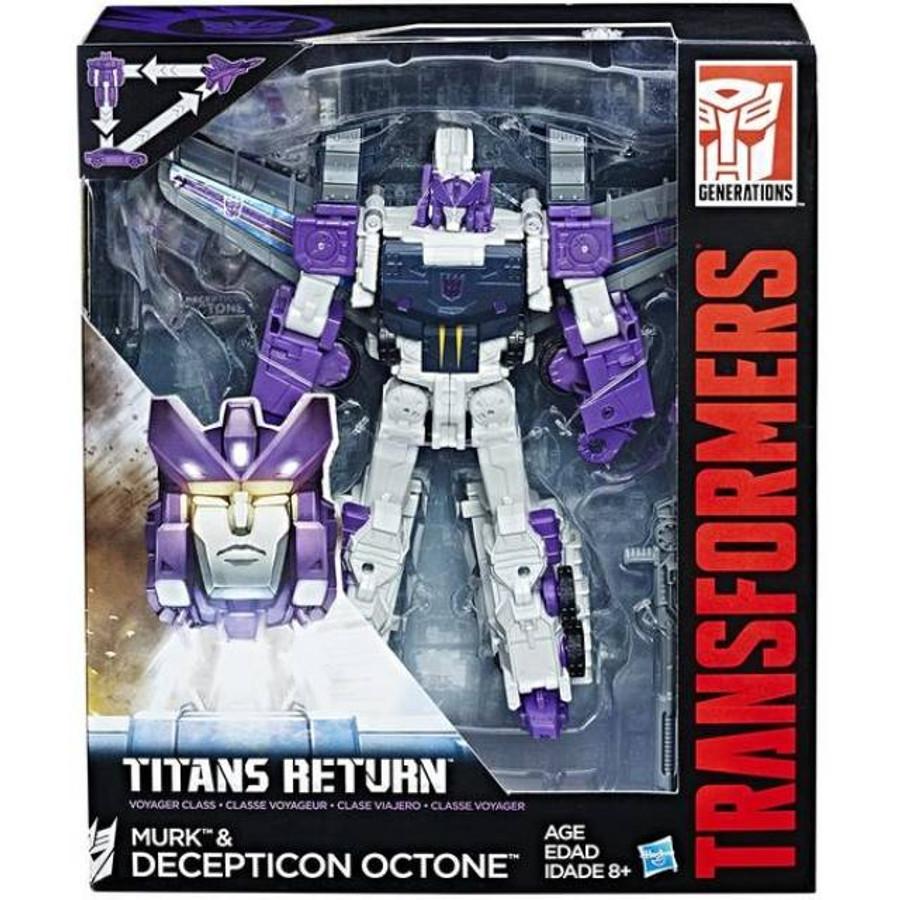 Transformers Generations Titans Return - Voyager Wave 5 - Set of 2