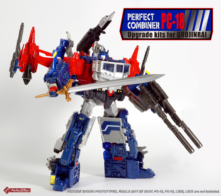 Perfect Effect - PC-18 Perfect Combiner God Jinrai Upgrade Kit
