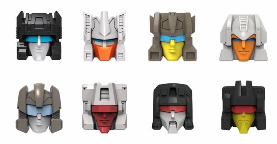 Fix It - Titans Return Replacement Face Plates - Set of 8