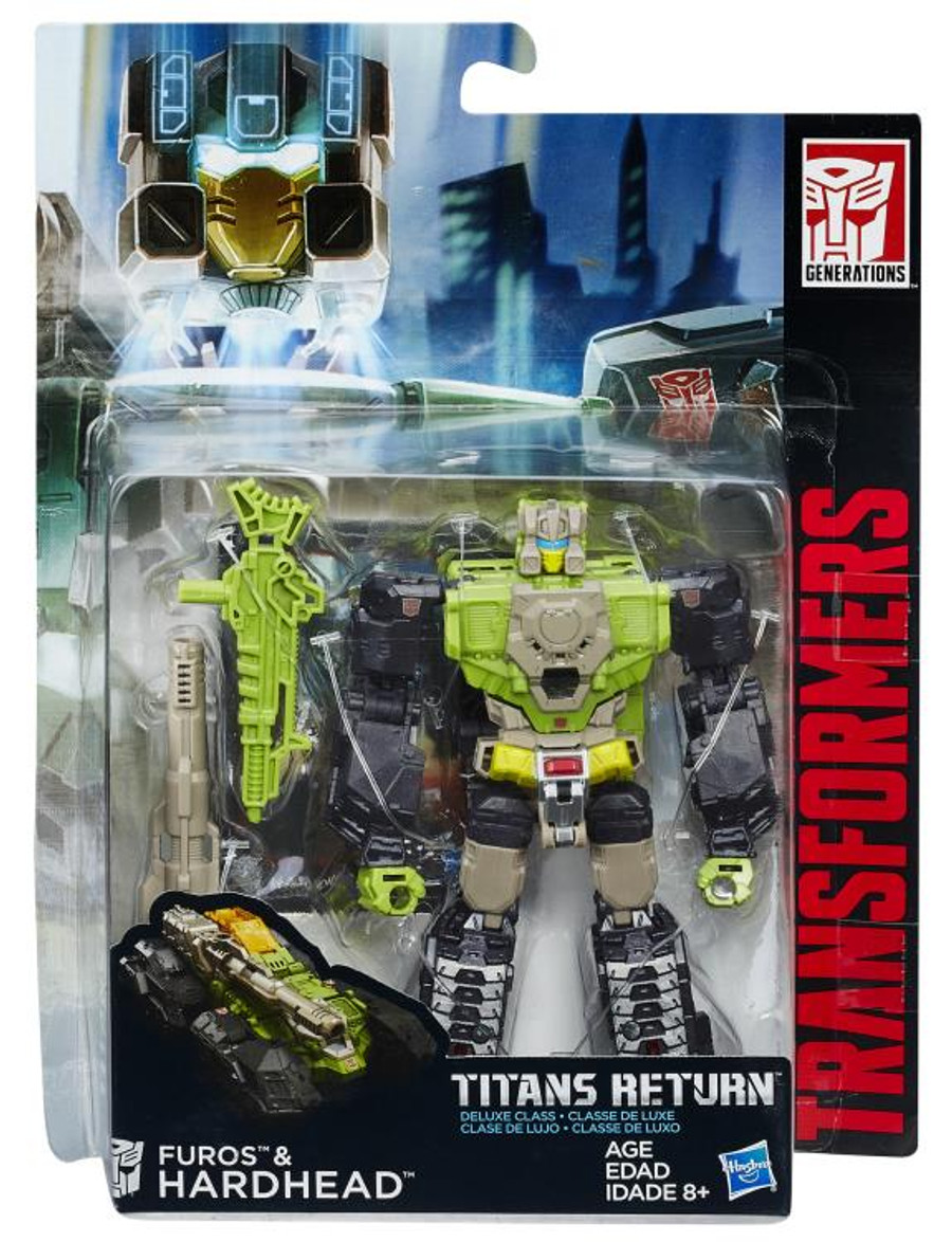 Transformers Generations Titans Return - Hardhead