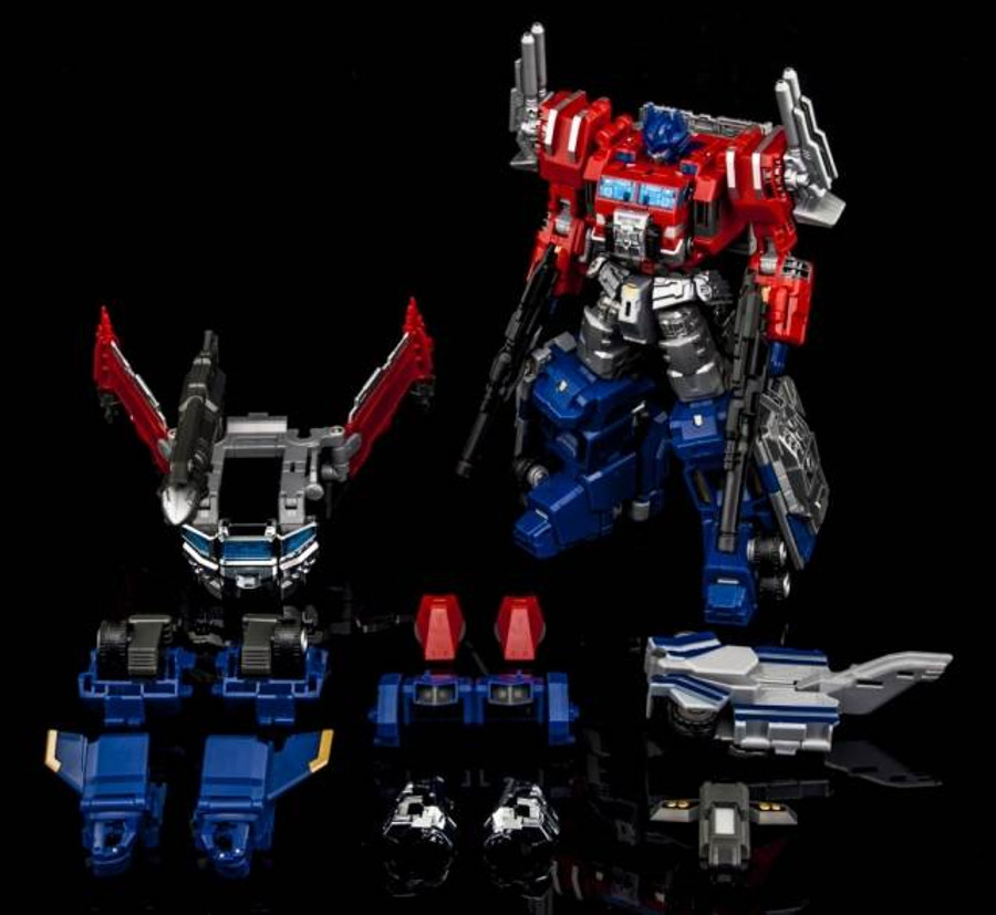 MakeToys - Cross Dimension - MTCD-03 Thunder Manus + Divine Suit Boxset