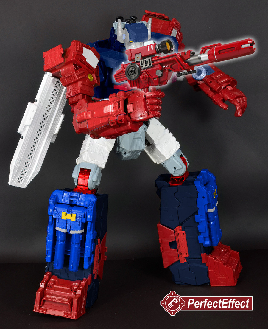 Perfect Effect - PC-14EX Perfect Combiner The Grand Cannon Upgrade Set