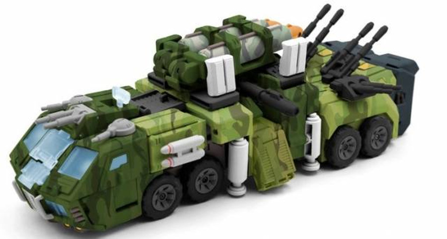 TFC - STC-01A Supreme Tactical Commander (Jungle Version)