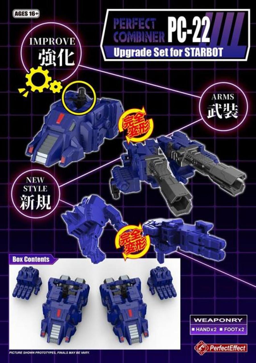 Perfect Effect - PC-22 Power of the Primes Starscream Upgrade Set