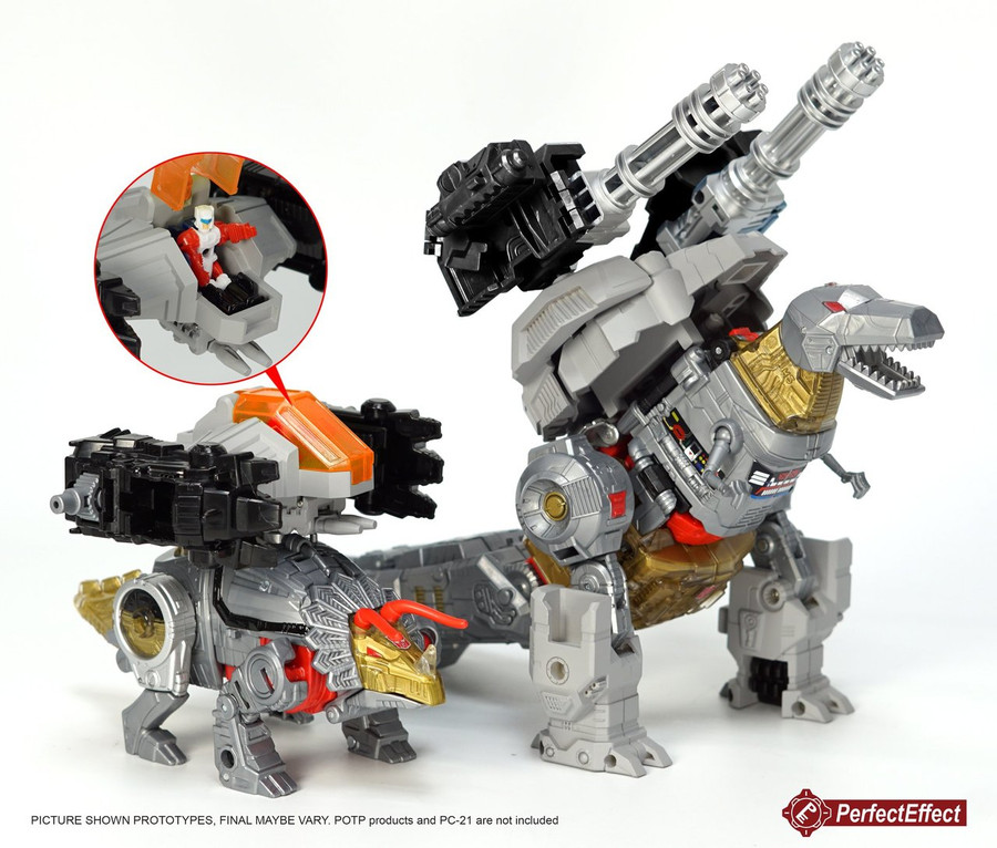 Perfect Effect - PC-23 Power of the Primes Dinobots Upgrade Set