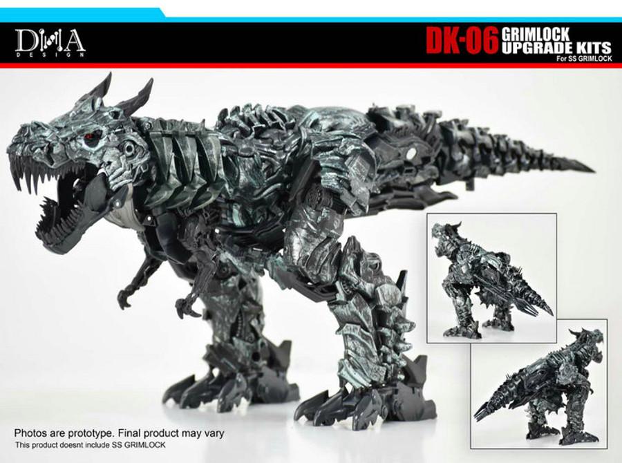 DNA Design - DK-06 SS-07 Grimlock Upgrade Kit