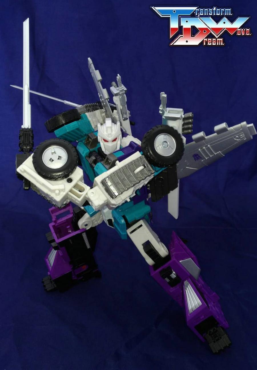 Transform Dream Wave - TCW-05 Sixshot Add-On Set