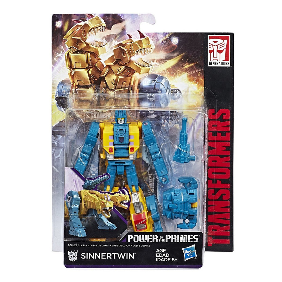 Transformers Generations Power of The Primes - Deluxe Wave 3 - Set of 3