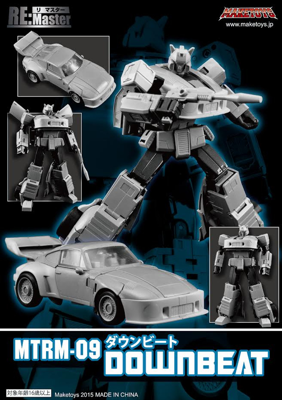 Maketoys Remaster Series - MTRM-09 Downbeat Re-issue