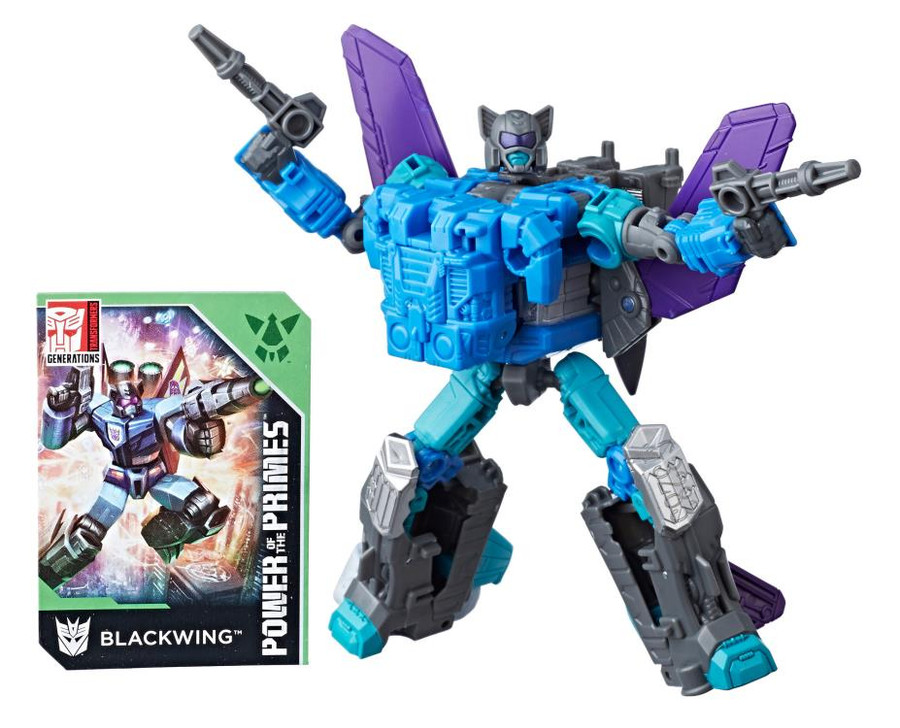 Transformers Generations Power of The Primes - Deluxe Blackwing