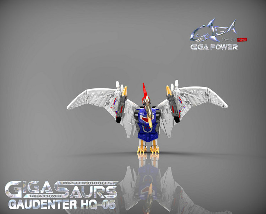 Giga Power - Gigasaurs - HQ05 Gaudenter - Metallic (Blue Ver.)