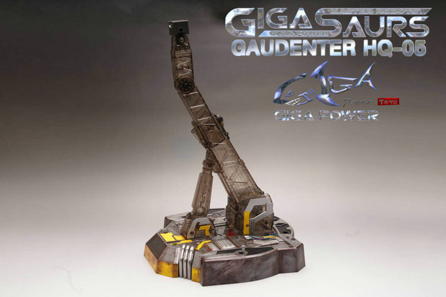 Giga Power - Gigasaurs - HQ05R Gaudenter - Chrome (Blue Ver.)