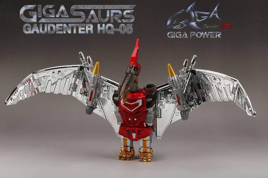 Giga Power - Gigasaurs - HQ05R Gaudenter - Chrome (Red Ver.)