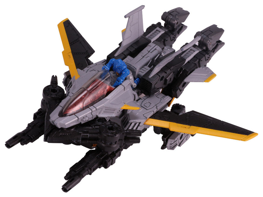 Diaclone Reboot - DA-32 Maneuver Skyjacket