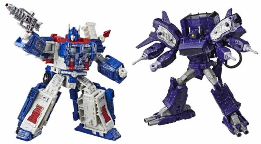 Transformers Generations Siege - Leader Wave 1 Set of 2