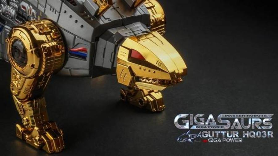 Giga Power - Gigasaurs - HQ03R Guttur - Chrome [Reissue]