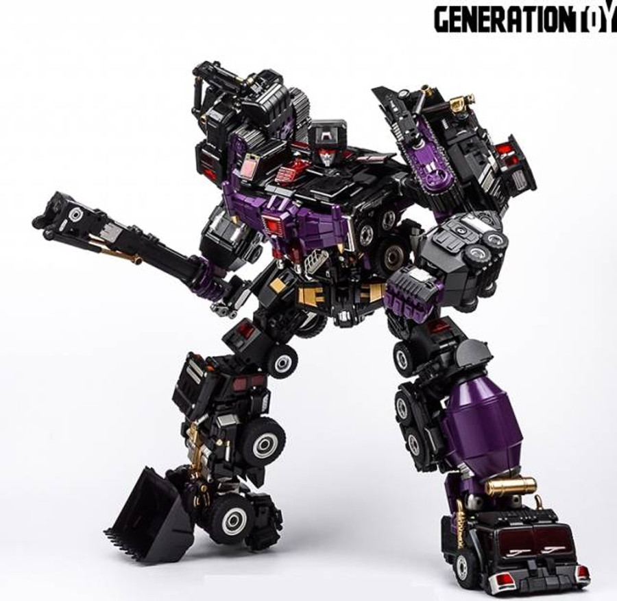Generation Toy - Gravity Builder - GT-88 Black Judge