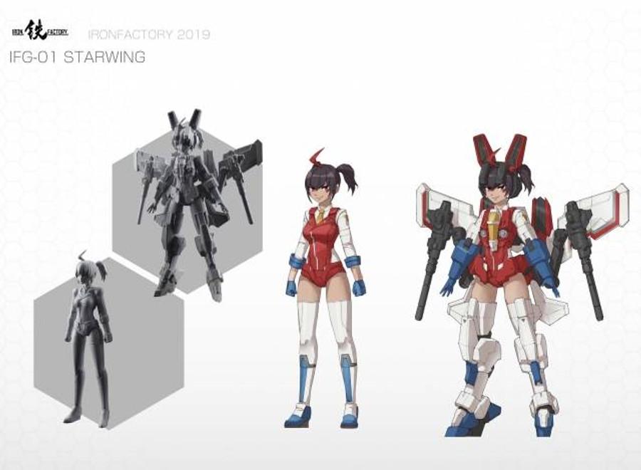 Iron Factory - IFG01 Starwing
