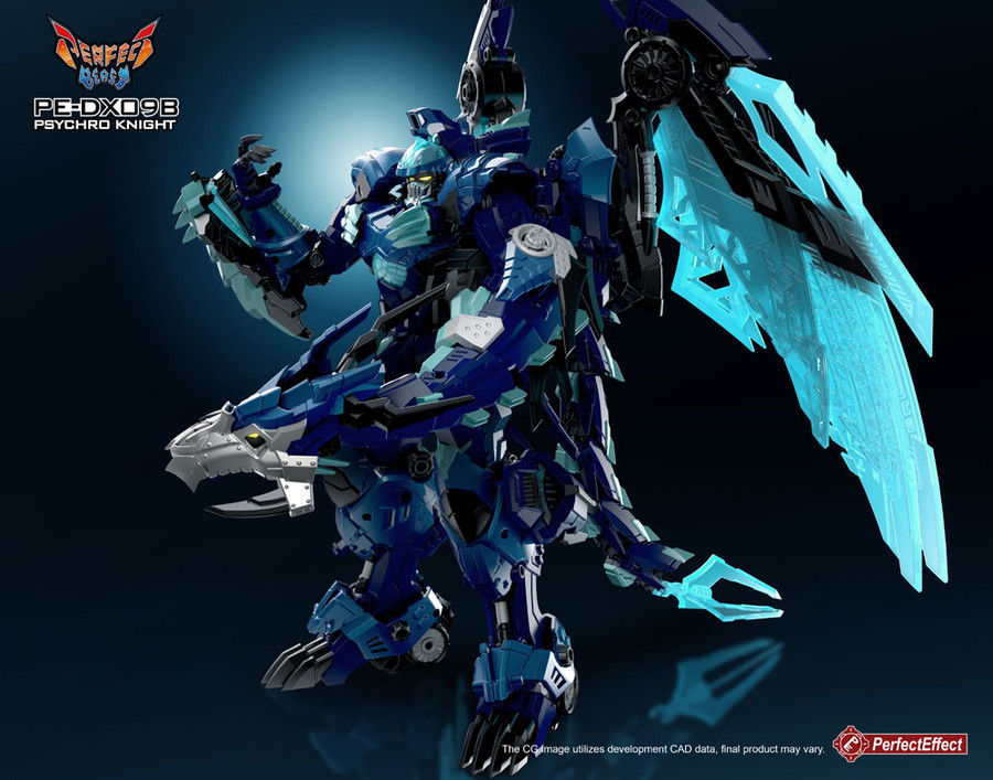 Perfect Effect - PEDX09B Psychro Knight