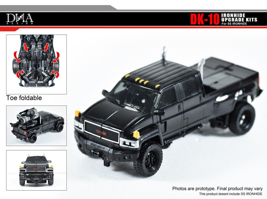 DNA Design - DK-10 Studio Series Ironhide Upgrade Kit