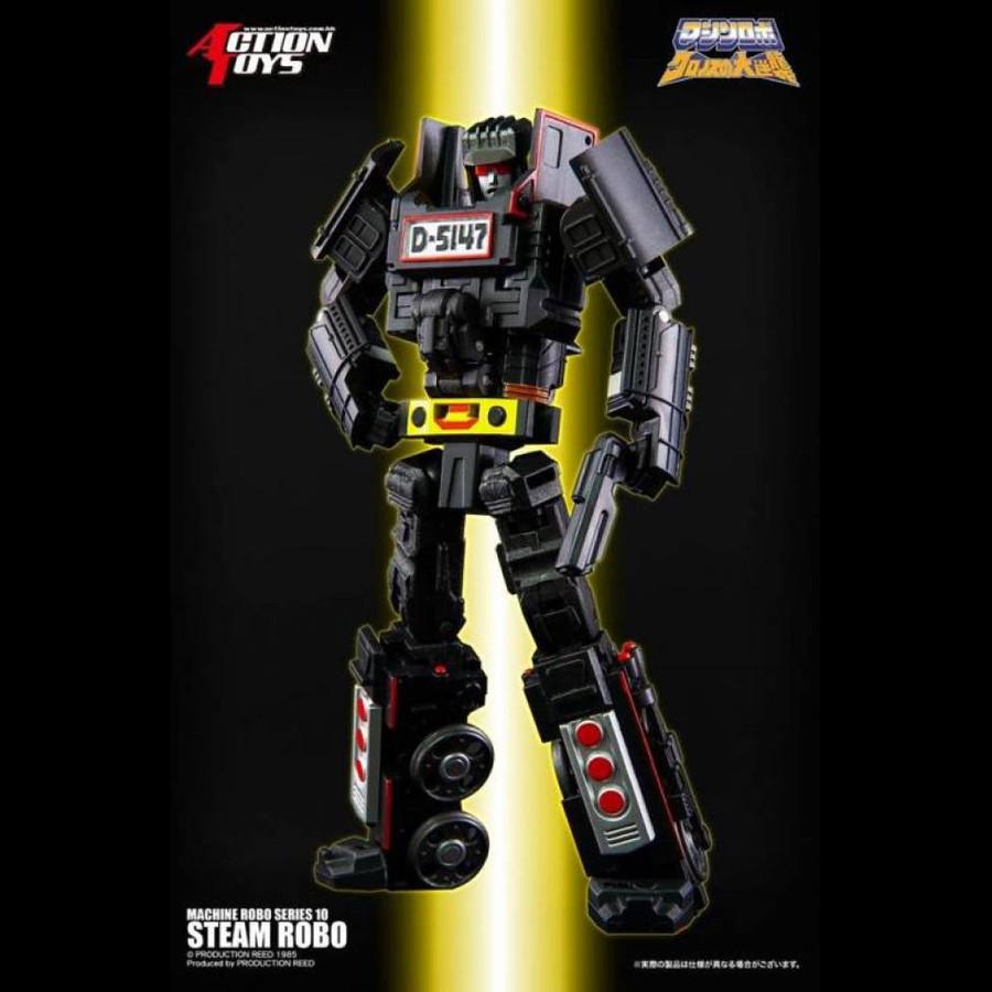 Machine Robo - MR-10 - Missile Steam Robo