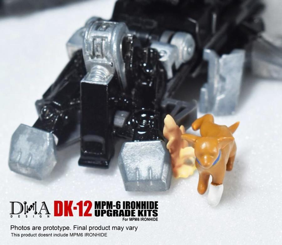 DNA Design - DK-12 MPM-6 Ironhide Upgrade Kit