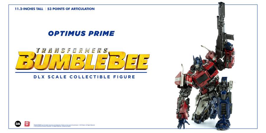 ThreeA - Bumblebee Movie: DLX Optimus Prime