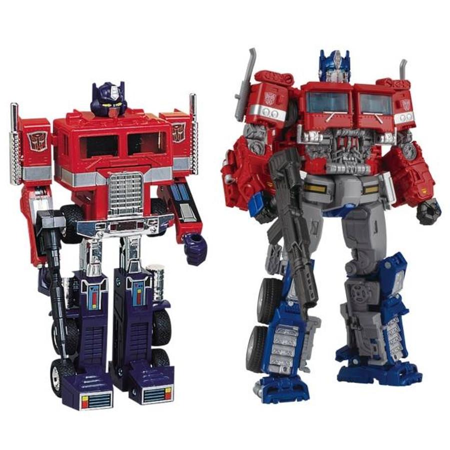Transformers 35th Anniversary Convoy & Optimus Prime Exclusive Set