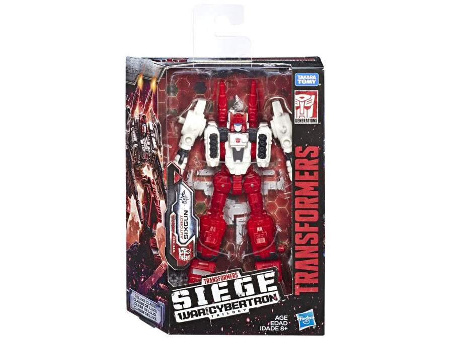 Transformers Generations Siege - Deluxe Sixgun