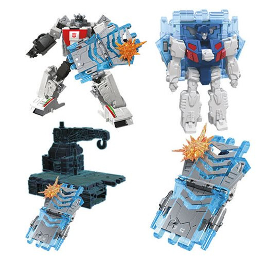 Transformers War for Cybertron - Earthrise - Battle Master Soundbarrier