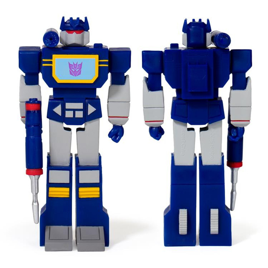Transformers X Super 7 - Transformers ReAction: Soundwave